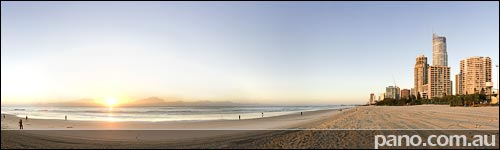 Gold Coast, Surfers Paradise Beach