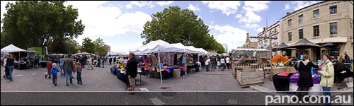 Hobart, Salamanca Markets